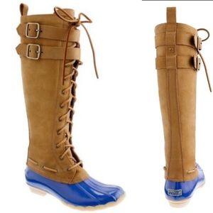 """Sperry Top-Sider """"Albatross"""" high duck boots -NWOT"""